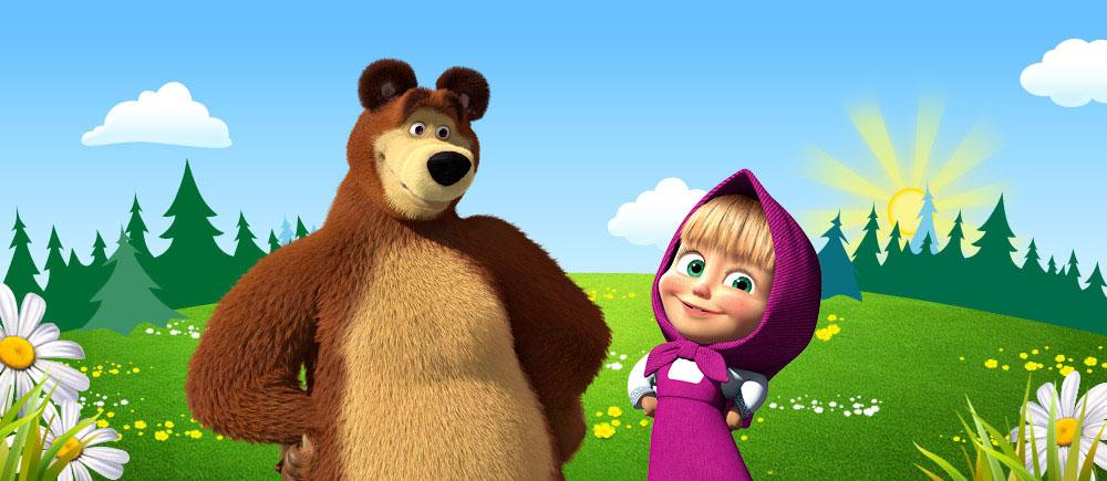 Ютуб - Маша и медведь