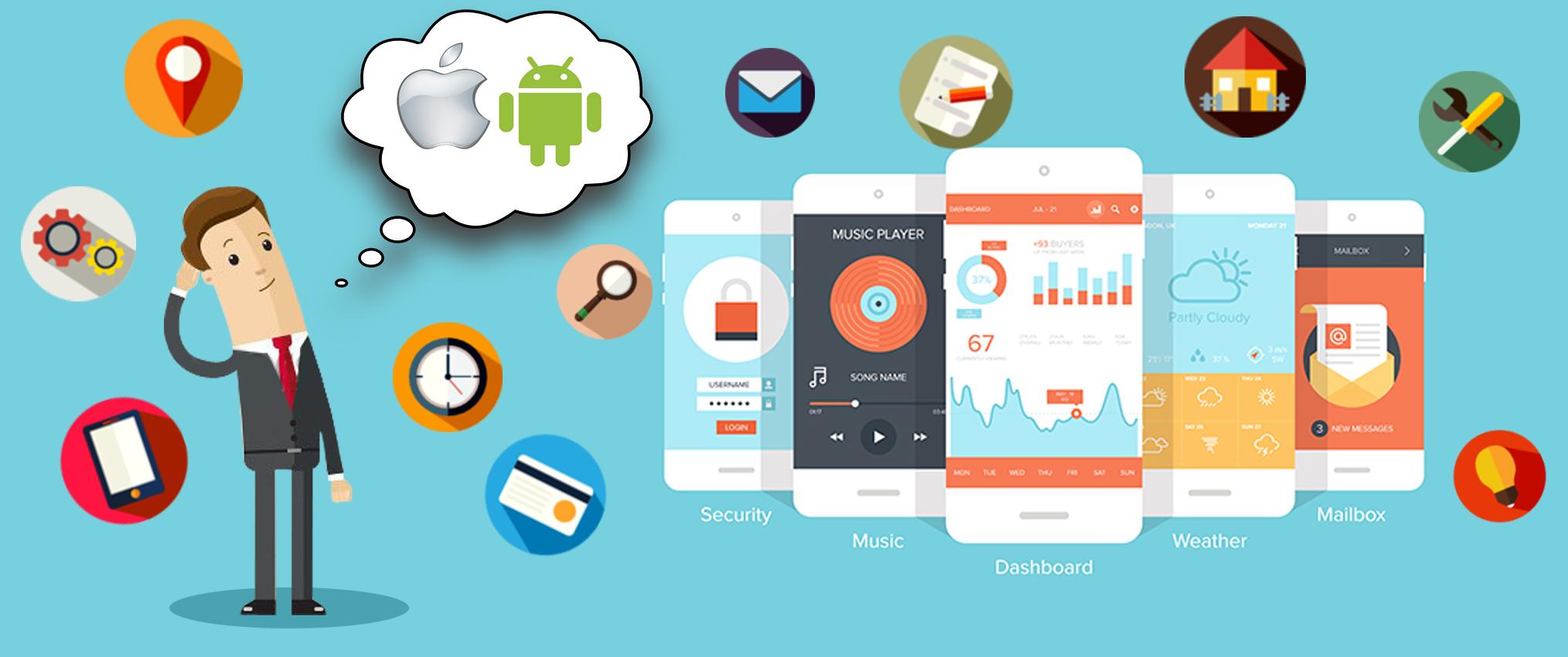 Раскрутка мобильных приложений