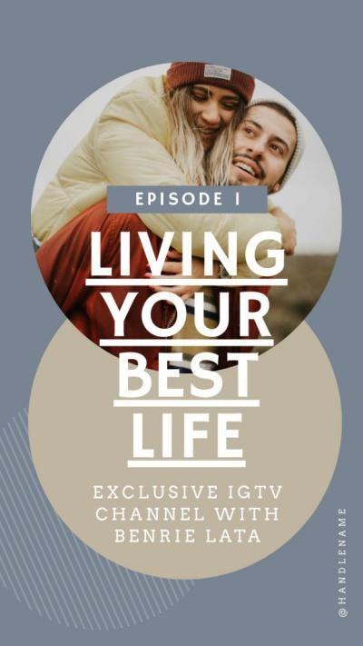 IGTV - обложка для видео