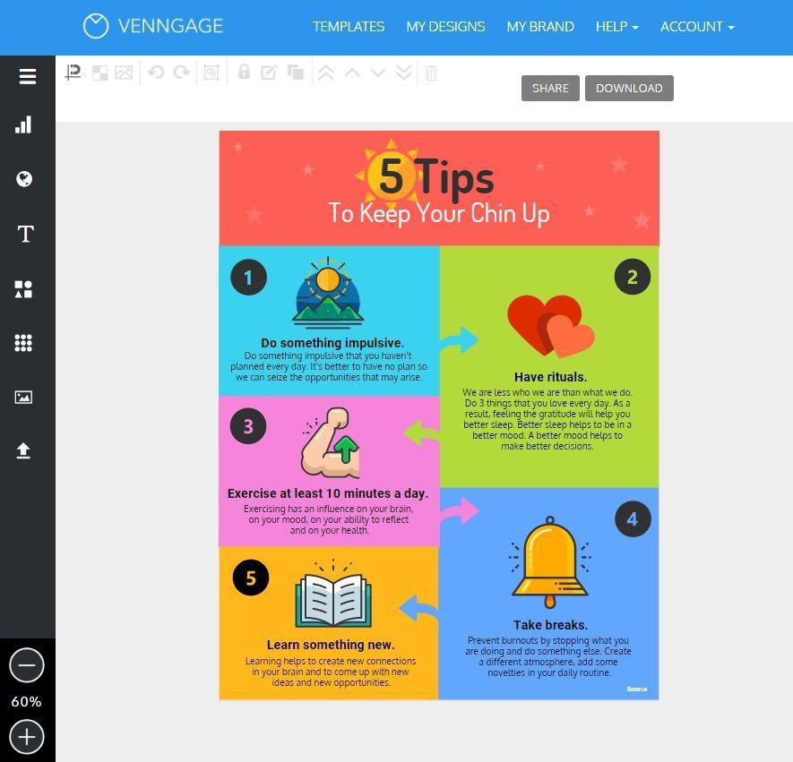 Создать инфографику онлайн - сервис
