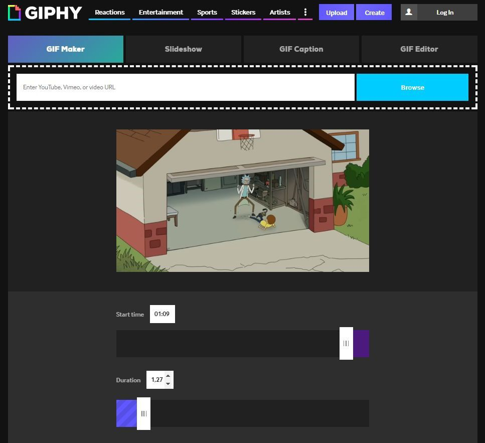 Создать GIF онлайн - сервис