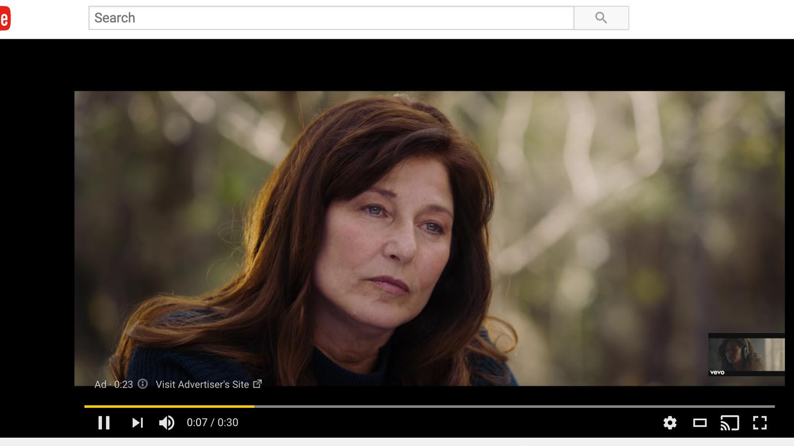 Реклама без пропуска - Youtube