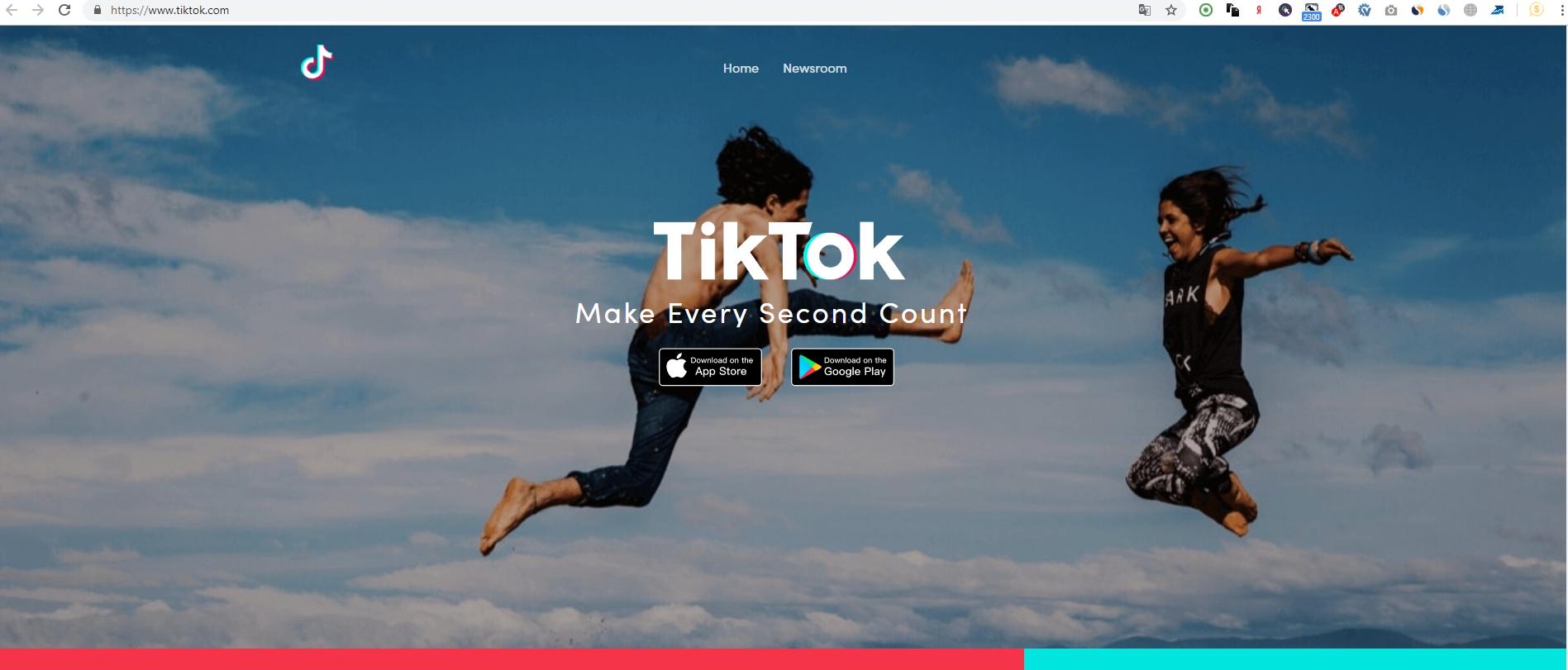 TikTok социальная сеть